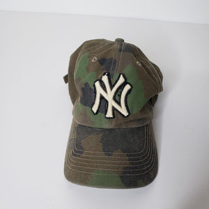 NY Yankees 47 Forty Seven Camo Cap Hat